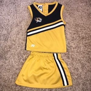 Little Missouri Mizzou Tiger Cheerleader Outfit